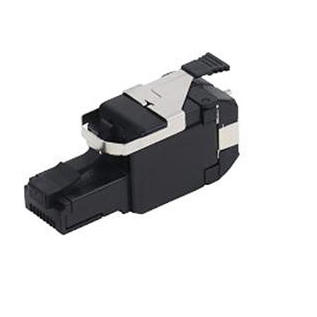 Belden RVAFPUBK-S1 REVConn 10GX Plug UTP T568 A/B - Black - Single Pack