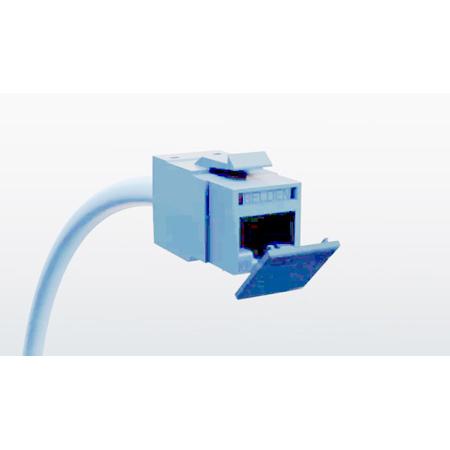 Belden RVUDCBL-B24 Dust Caps for all REVConnct Jacks - Pack of 24 - Blue