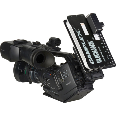 Camplex Camera Mount Neutrik opticalCON Adapter for Blackmagic ATEM Camera Converter