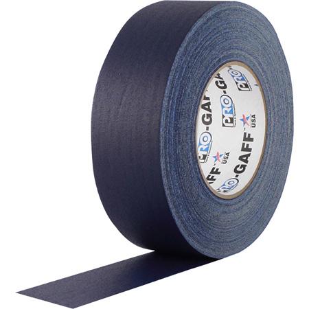Pro Tapes 001UPCG255MBLU Pro Gaff Gaffers Tape BLGT-60 2 Inch x 55 Yards - Blue