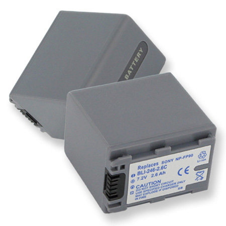 Lithium Ion Replacement Battery for Sony NP-FP50