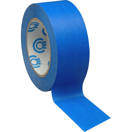 Pro Tapes 001SCE160MBLU Blue Removable Masking Tape/Artist Tape 1in x 60yd