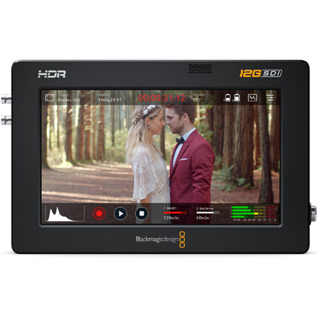 Blackmagic Design  5-Inch 12G HDR Video Assist Recording Monitor HYPERD/AVIDA12/5HDR