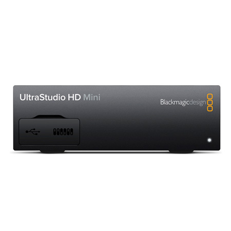 Blackmagic Design BMD-BDLKULSDMINHD UltraStudio HD Mini with Thunderbolt 3 Capture & Playback Solution with 3G-SDI&HDMI
