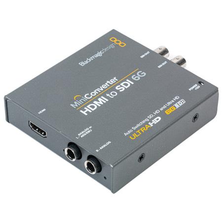 Blackmagic Design BMD-CONVMBHS24K6G Mini Converter - HDMI to SDI 6G - Bstock (Mfg Refurbished)