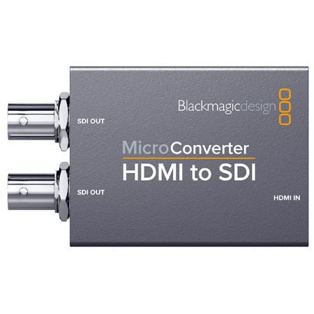 Blackmagic Design BMD-CONVCMIC/HS/WPSU Micro Converter - HDMI to SDI with Power Supply