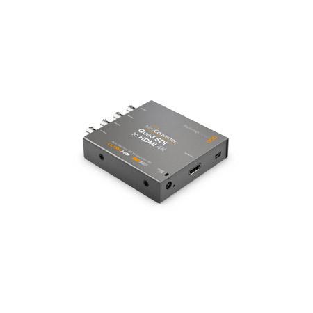 Blackmagic CONVMBSQUH4K2 Mini Converter Quad SDI to HDMI 4K