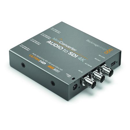 Blackmagic Mini Converter - Audio to SDI 4K - Embedder