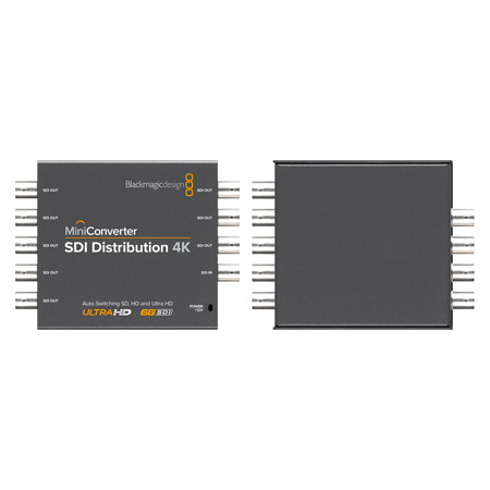 Blackmagic Design CONVMSDIDA4K SDI Distribution 4K Mini Converter - 1x8 Distribution Amplifier