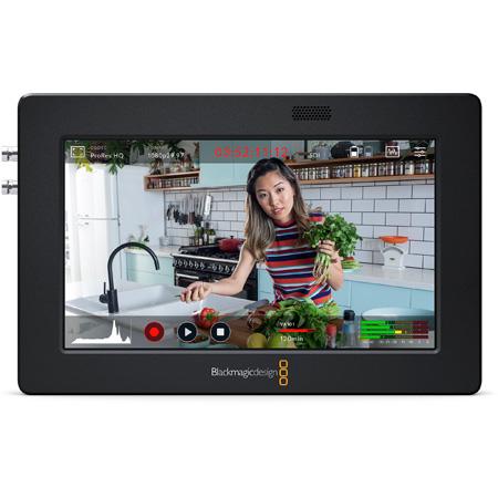 Blackmagic Video Assist 5 Inch 3G Portable Monitor/Recorder for SDI or HDMI Cameras BMD-HYPERD/AVIDA03/5