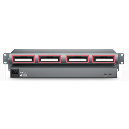 Blackmagic Design - Multidock 2 - Rack-Mountable -  Four Disk Docking Station