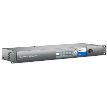 Blackmagic MultiView 16 Video Multiviewer for 16-Channels of SDI