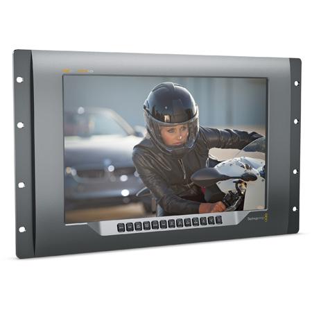 Blackmagic BMD-HDL-SMTV4K12G2 SmartView 4K 15.6-Inch Ultra HD Broadcast Rackmount Monitor with 12G-SDI