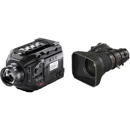 Blackmagic Design BMD-USRABroadcast-XA20sX8.5BERM-kit URSA Broadcast Camera with Fujinon XA20sX8.5BERM-K3 Lens