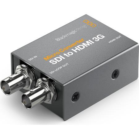 Blackmagic Design BMD-CONVCMIC/SH03G/WPSU Micro Converter - SDI to HDMI 3G with Power Supply