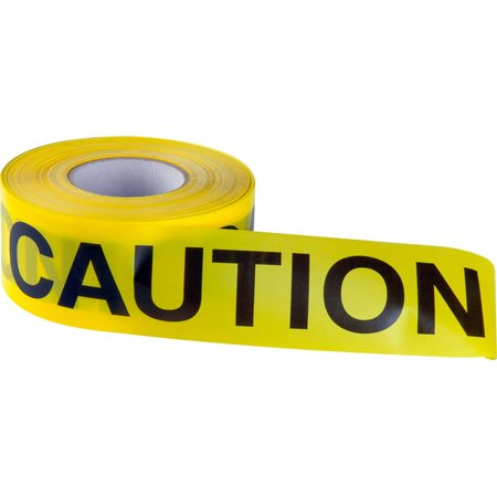 Connectronics Barricade Tape - Pro-Caution Non Adhesive Hazard Barricade Tape