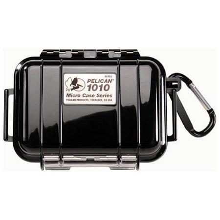 Pelican 1010 Micro Case - Black Case/Black Liner