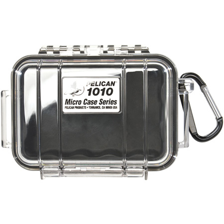 Pelican 1010 Micro Case - Clear Case/Black Liner