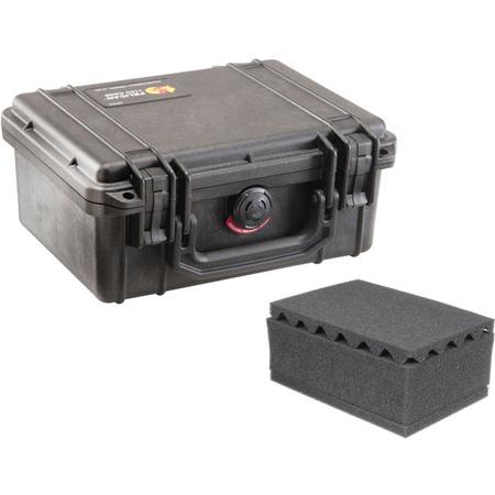 Pelican 1150WF Protector Case with Foam - Black