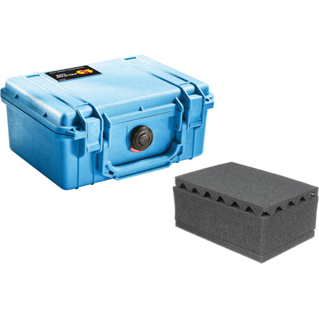 Pelican 1150WF Protector Case with Foam - Blue