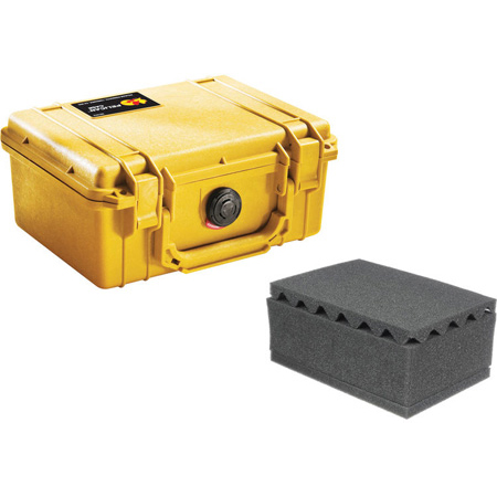 Pelican 1150WF Protector Case with Foam - Yellow