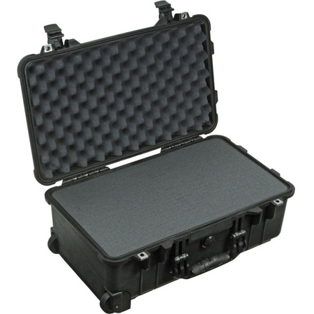 Pelican 1510WF Protector Carry-On Case with Foam - Black