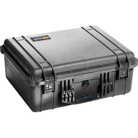 Pelican 1550WF Protector Case with Foam - Black