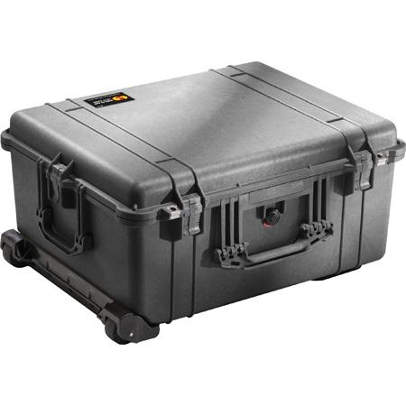 Pelican 1610WF Protector Case with Foam - Black