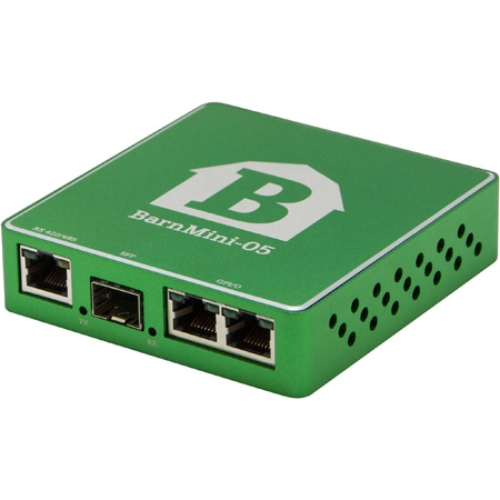 Barnfind BARNMINI-05 RS422/485 4x GPI and 4x GPO Converter with Open SFP Port