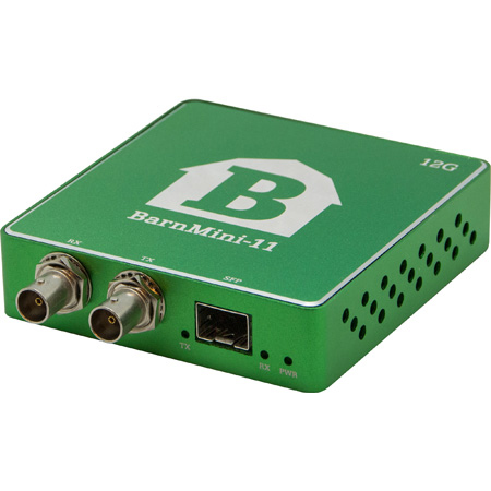 Barnfind BARNMINI-11 12G BNC Transmitter Receiver with Open SFP Port