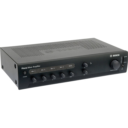 BOSCH PLE-1ME120-US 120-Watt Economy Mixer Amplifier