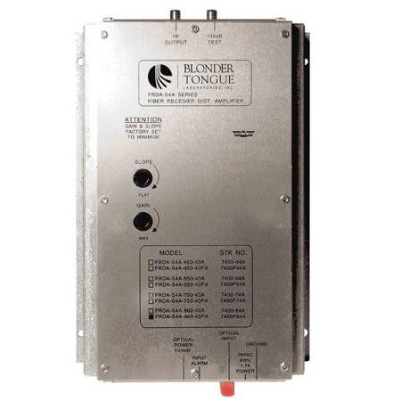 Blonder Tongue FRDA-S4A-860-FA Fiber Optic Receiver/RF Distribution Amplifier