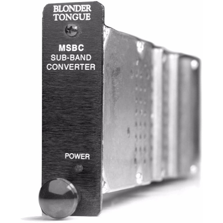 Blonder Tongue MSBC Agile HE-12 Series Demodulator