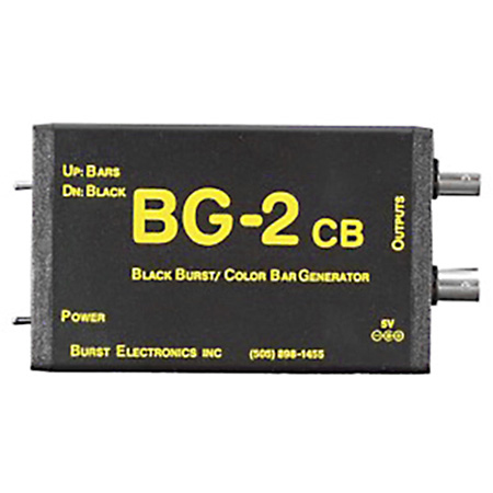 Burst BG-2CB Dual Output Blackburst Generator with Color Bars
