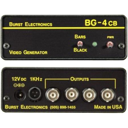 Burst BG-4CB Quad Output Blackburst Generator with Color Bars