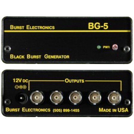 Burst BG-5 5-Output Black Burst Generator
