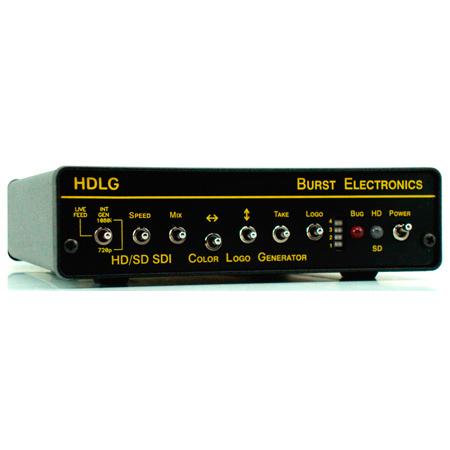 Burst Electronics HDLG HD/SD SDI Color Logo Generator