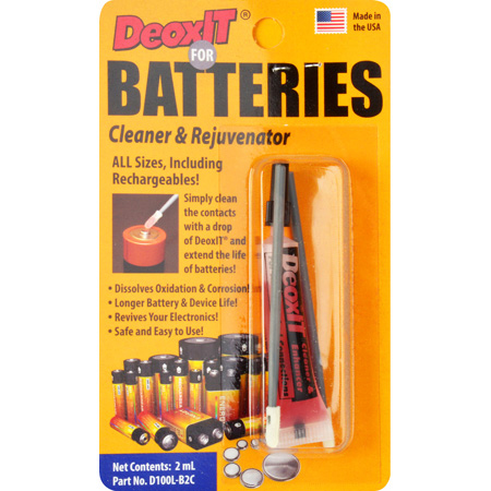 CAIG Laboratories D100L-B2C DeoxIT® Battery Cleaner & Rejuvenator Kit for all Batteries and Electronic Connections