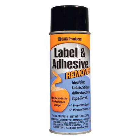CAIG Products DLR-V910 Label and Adhesive Remover - Orange Scent - 10 oz