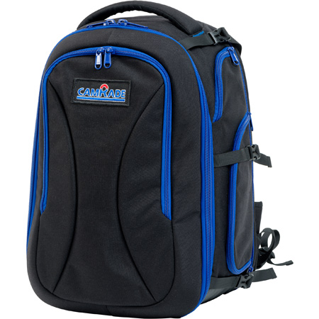 camRade CAM-R&GBACKP-LARGE Run-and-Gun Style Backpack for Cameras up to 15 Inches
