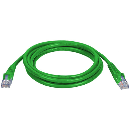 Connectronics 350MHz UTP CAT5e Patch Cable 50 Foot Green