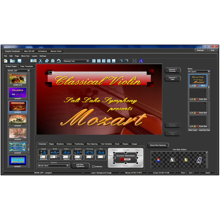 Cayman Graphics Power CG Live High Definition Character Generator