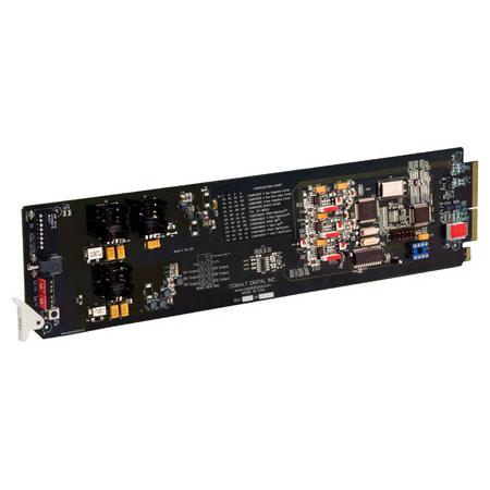 Cobalt Digital 9021 Standard Def A/D Analog Composite - Y/C - Component to 10-bit SDI openGear Card