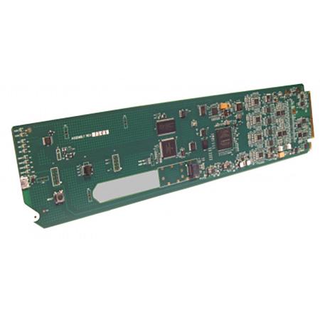 Cobalt Digital 9933-EMDE-ADDA 3G/HD/SD-SDI 16 Ch Un-Balanced AES and Balanced Analog Audio Embed/De-Embed openGear Card