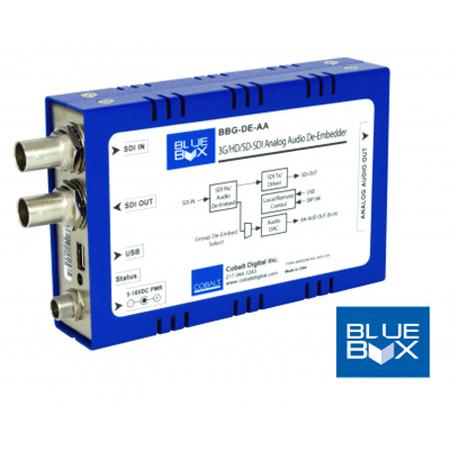Cobalt BBG-DE-AA 3G/HD/SD Analog Audio De-Embedder