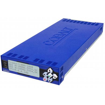 Cobalt BBG-1060-TG2-REF1 3G / HD / SD-SDI Standalone Dual Test Signal Generator w /  Moving Box Active Signal Indication