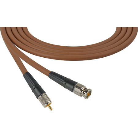 Laird CB-CR-3-BN Canare LV-61S RG59 BNC to RCA Video Cable - 3 Foot Brown