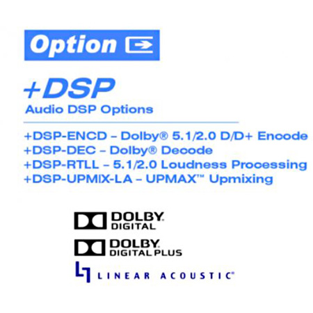 Cobalt Digital Plus-DSP-RTLL-2.0 DSP-Based Dolby RTLL Stereo Loudness Processor Option 2.0 Version