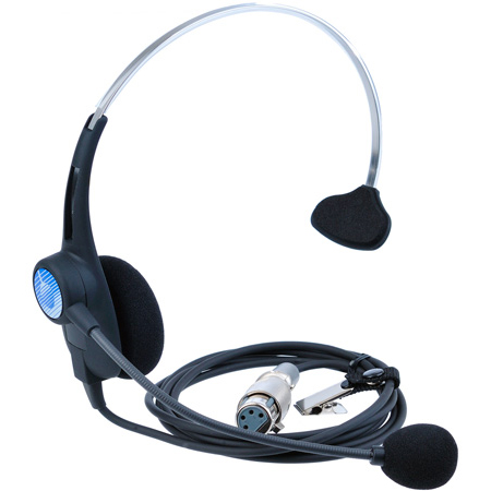 Clear-Com CC-26K-X4 Single-Ear Lightweight Headset XLR-4F