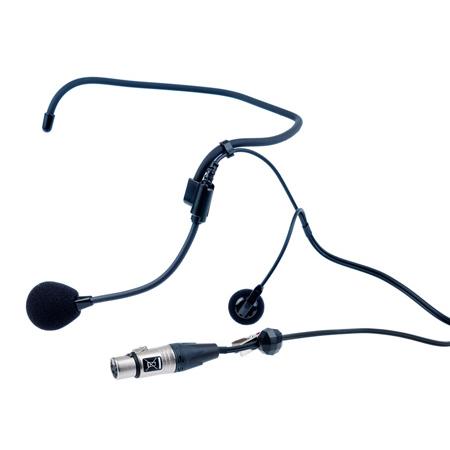 Clear-Com CC-27 Single Ear Wraparound Headset with 4-Pin Female XLR